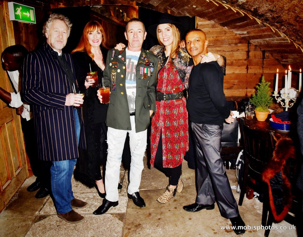 "OIC - ENTSIMAGES.COM - Sharon Judd, Wolfy Foxlow, Gemma Reynolds and Louis Mariette at the Fine Art Photography Exhibition By Gemma Reynolds Photography launching her unseen fine art Rock'N'Roll December ""gem rey"" collection in London 4th December 2015 Photo Mobis Photos/OIC 0203 174 1069"