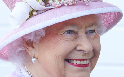 Pretty In Pink: Her Royal Majesty The Queen